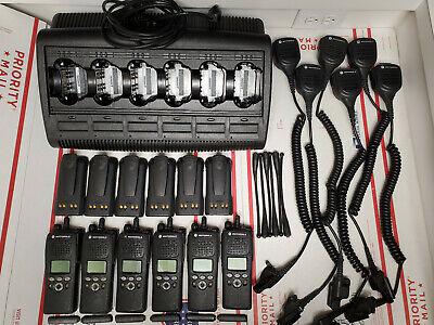Lot Of 6 Motorola Xts2500 Model Ii 700800mhz P25 9600 Digital Astro Complete