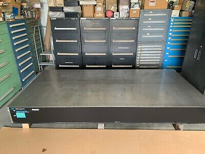 Newport Optical Table 5 X 10 X 12 Thick Comes With 4 Xl-b Isolation Legs