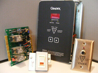 Gendex Dental 770 X-ray Timer Relay Pc Boards Master Onoff Switch Remote Sw
