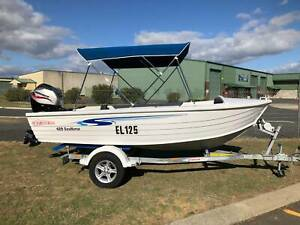 Stacer 429 Seahorse with 25hp 4 stroke Davenport Bunbury Area Preview