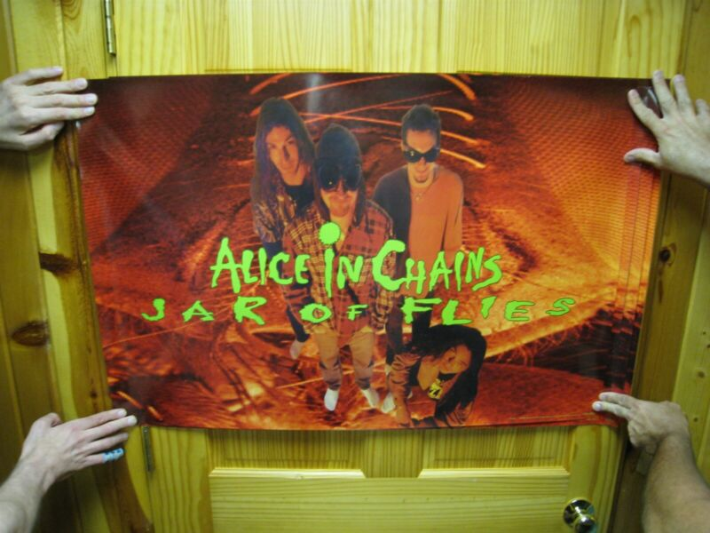 Alice in Chains Poster Mint Jars of Flies Band Shot