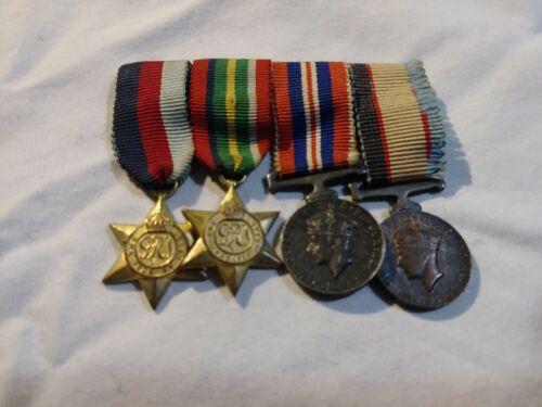 WW2 WWII Australian Miniature Medals Service War Stars
