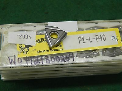 5 Komet W04 42180.0204 P1-l-p40 02 Carbide Inserts