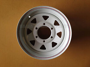 Sunraysia-14-6-STUD-LANDCRUISER-RIM-White-Trailer-Parts