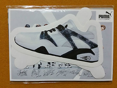 Bangtan Boys BTS PUMA Blaze Official Photo Card Set Limited Full Set (Used)