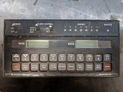 Raven Scs 460 Spray Control