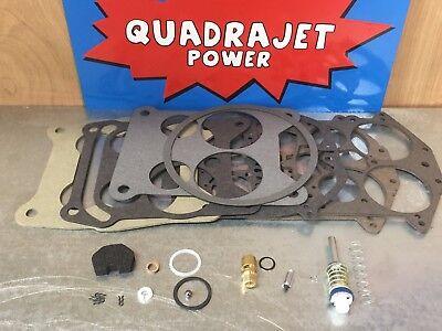Quadrajet Rebuild Kit. Buick 66-74, Chevy 66-67, Pontiac (Quadrajet Rebuild)