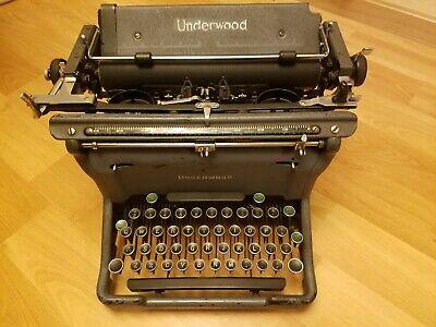"Antique 1950's Underwood Typewriter # 5 Standard Model #S5388942-11 ""VERY NICE!"""