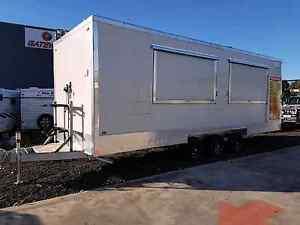 8.5 meter tri axle trailer food van caravan foodtruck make a offe Dallas Hume Area Preview