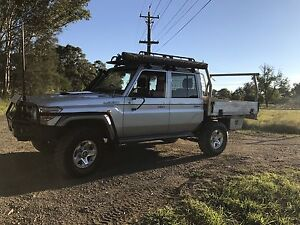 Toyota LandCruiser GXL dual cab ute Riverstone Blacktown Area Preview