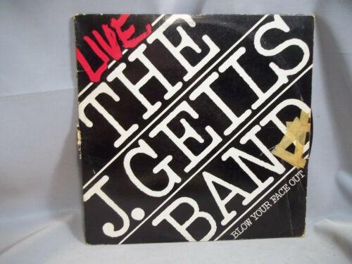 THe J.Giles Band Blow Your Face Out Vinyl LP Album 1976