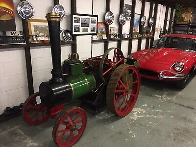 Live Steam Traction Engine 6'' Inch Scale Burrell Coal Fired