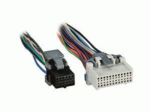 wire harness trailblazer ebay rh ebay com Sony Car Stereo Wiring Adapter Dual Car Stereo Wire Harness