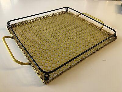 Tray IN Sheet Metal Perforated Mathieu Mategot/Vintage 1960/70
