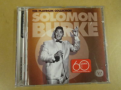 CD THE PLATINUM COLLECTION / SOLOMON BURKE
