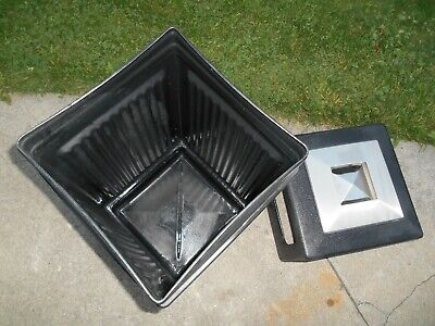 Safco Outdoor Trash Can Commercial Smokers Garbage Waist Receptacle Washtray
