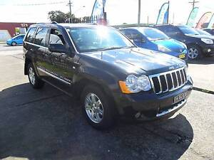 2008 Jeep Grand Cherokee 4.7L V8 WH LIMITED BLACK 4D Wagon Lansvale Liverpool Area Preview