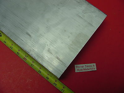 12 X 10 X 20 Aluminum 6061 Flat Bar Solid T6511 New Mill Stock Plate .50