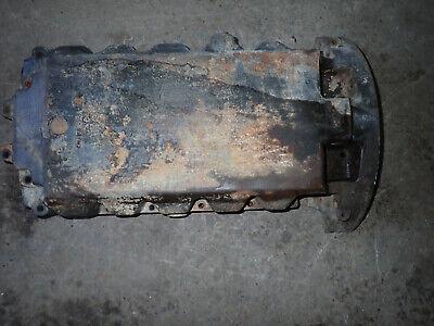 Perkins 4 Cylinder Diesel Engine 4.236 Oil Pan 3717182a6 Massey Ferguson 746421m