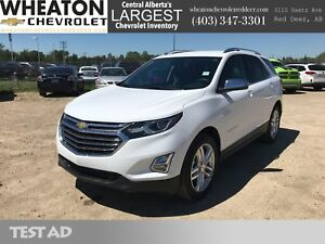 2018 Chevrolet Equinox Premier - Leather, Backup Camera, 4G LTE