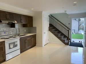 Two bedrooms. Two-story garage house for rent