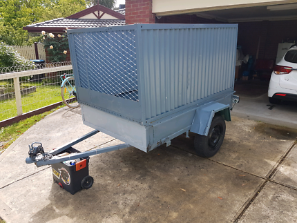 6ft by 4ft Cage Trailer