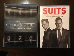 Game of Thrones and Suits