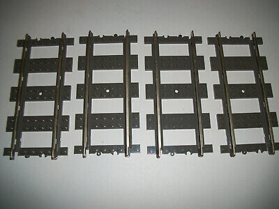 LEGO Train Replacement Track Lot of 8 Curve Part #2867 City Railway Dark Gray