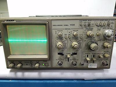 Leader 1100 100mhz Oscilloscope