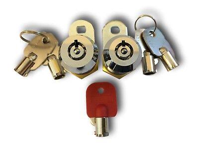 Master keyed suited Cam lock Locker Lock High Security RPT Radial Key C/W 2Keys