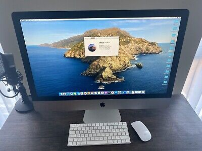 2019 27-inch iMac Apple 5k 3.7Ghz 6-core 9th Gen i5 16GB Ram 2TB 580X 8GB GPU