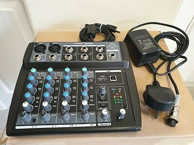 Wharfedale Pro Connect 802 USB Compact Mixer Audio Interface Soundcard (FOR MAC)