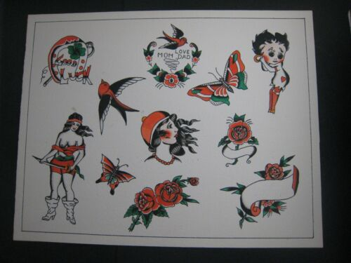 Original Tattoo Flash..