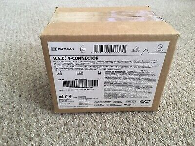 Newboxed Kci V.a.c. Y-connector Ref M62750665 Box Of 5