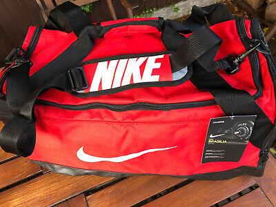 Nike Brasilia Sports Bag Duffel Holdall Size Large 61 Litre Gym Work Brand New