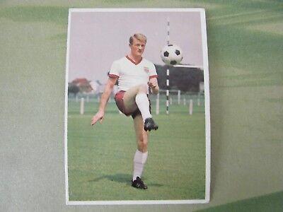 BERGMANN-KARTE  Postkartenformat 1966/67 >> WERNER OLK BAYERN MÜNCHEN >>