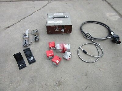 Olympus Bore Scope If 11d3-30 Industrial Fiberscope 9 Long Cable Extras