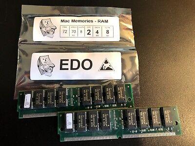 EDO NON-PARITY 60NS SIMM 72-PIN 5V 2X32  PC-MAC-Unix-Printer 16MB 2 X 8MB