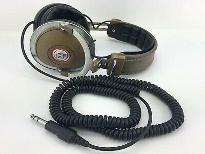 "Vintage KOSS PRO 4AAA Over Ear Studio 4 AAA Headphones 1/4"" 6.35mm"