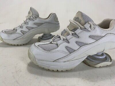Womens Z-Coil Zcoil Freedom Classic Shoes White Size 10
