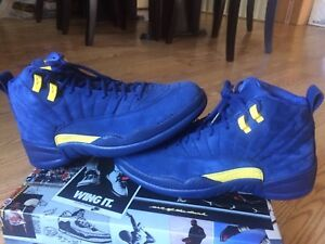 Air Jordan 12 Retro NRG Michigan Size 8 US Mens