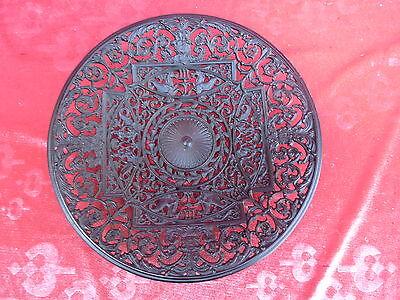 Beautiful Decorative Plate __ Bowl __Buderus__ 28cm ___ Iron _