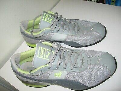 PUMA Eco-Ortholite Running Shoes Size 13 Med. with Logos, sports lifestyle Gray
