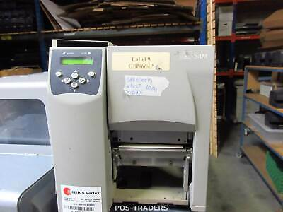 Zebra S4M S4M00-200E-0100D Thermal Barcode Label Printer NO PH - MISSING BELT