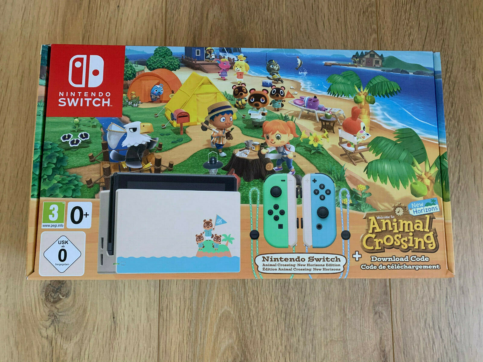 Nintendo Switch Konsole Animal Crossing: New Horizon Limited Edition