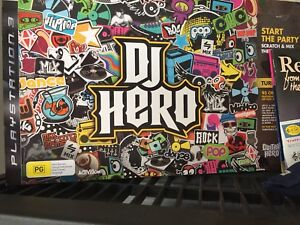 DJ Hero mixing desk and game  for Playstation 3 Point Cook Wyndham Area Preview