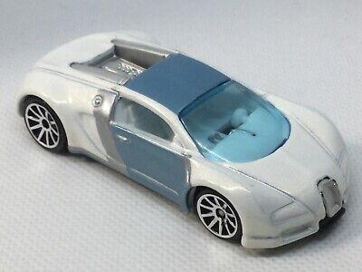 Hot Wheels loose Mystery Car white Bugatti Veyron.