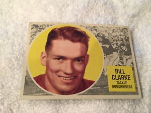 3-1960 Topps CFL Football Cards