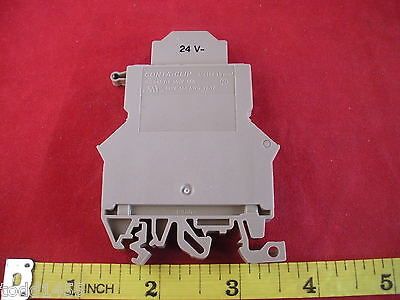 Conta Clip Con 1112.2 Fuse Holder SIK10/Z/2LED SIK10Z 10mm Terminal Block New
