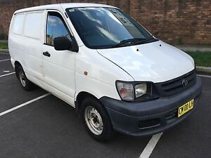 Toyota townace / Hiace 2000 . 3 months rego Lidcombe Auburn Area Preview